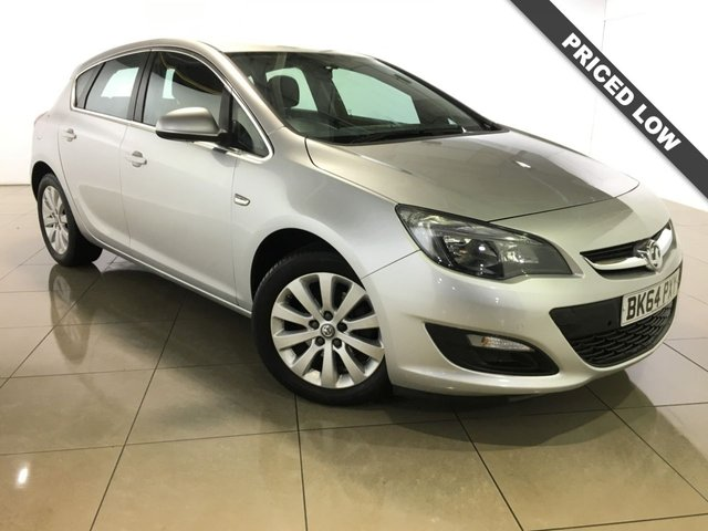 View our 2014 64 VAUXHALL ASTRA 1.6 TECH LINE CDTI ECOFLEX S/S 5d 108 BHP