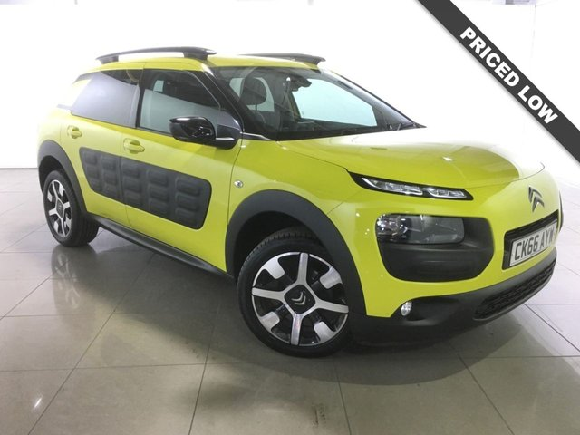 View our 2016 66 CITROEN C4 CACTUS 1.2 PURETECH FLAIR ETG S/S 5d AUTO 80 BHP