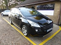 USED 2011 11 PEUGEOT 3008 1.6 EXCLUSIVE HDI 5d AUTO 112 BHP # 1 KEEPER FROM NEW # GLASS ROOF # BLUETOOTH #
