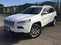 2015 JEEP CHEROKEE 2.0 M-JET LIMITED 5d AUTO 168 BHP SAT NAV LEATHER ONE OWNER FSH £16390.00