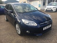 USED 2012 12 FORD FOCUS 1.6 TITANIUM X TDCI 5d 113 BHP FULL MAIN DEALER SERVICE HISTORY / KEYLESS ENTRY / CRUISE CONTROL / XENONS WITH HEADLIGHT WASH / HEATED SEATS