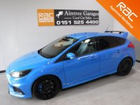 USED 2016 16 FORD FOCUS 2.3 RS 5d 346 BHP THIS CAR LOOKS AND DRIVES LIKE NEW, WITH FULL FORD SERVICE HISTORY 2 STAMPS ABSOLUTELY BEAUTIFUL CONDITION,Includes £2625 of options, £812 19-inch alloys;  £833 Luxury pack which includes power folding mirrors, Rear parking CAMARA, HALF LEATHER, 2 KEYS, Privacy glass, Cruise control, Ford KeyFree system