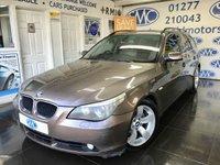2004 BMW 5 SERIES 2.5 525D SE TOURING 5d 175 BHP £2000.00