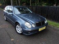 2005 MERCEDES-BENZ E CLASS 2.1 E220 CDI AVANTGARDE 5d AUTO 150 BHP £2988.00
