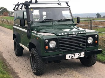 2001 LAND ROVER DEFENDER 2.5 90 HARD-TOP TD5 1d 120 BHP £7495.00