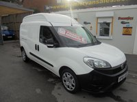 2015 FIAT DOBLO 1.6 16V XL MULTIJET  MAXI DIESEL  !!! RARE LWB FULL HI TOP !!!   54,000 MILES ONE OWNER AS NEW CONDITION ALL ROUND