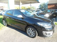 USED 2014 14 RENAULT MEGANE 1.5 KNIGHT EDITION DCI S/S 5d 110 BHP FREE ROAD TAX