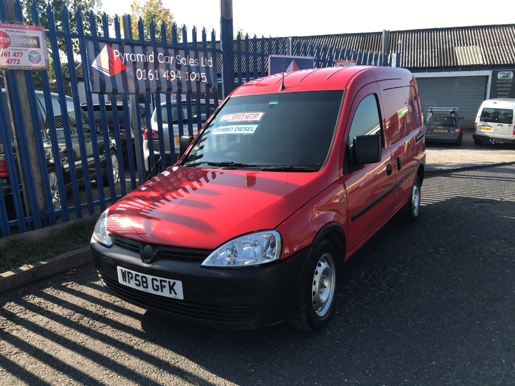 View our 2009 58 VAUXHALL COMBO 1.3 CDTi 16v 1700 Panel Van 3dr
