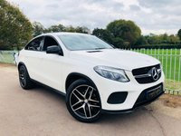 USED 2016 16 MERCEDES-BENZ GLE-CLASS 3.0 GLE 350 D 4MATIC AMG LINE 4d AUTO 255 BHP 1 Owner! Night Edition! DAB! Apple Car Play! Command! Elec Seats!