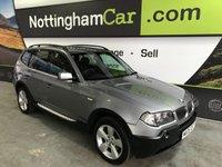 2005 BMW X3 2.0 D SPORT 5d 148 BHP £2995.00