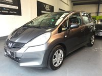 USED 2012 62 HONDA JAZZ 1.2 I-VTEC S AC 5d 89 BHP +FULL SERVICE+WARRANTY+FINANCE