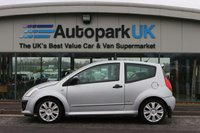 USED 2009 09 CITROEN C2 1.6 VTS 16V 3d 121 BHP * 25% DEPOSIT NO CREDIT CHECKS FINANCE AVAILABLE TO ALL *