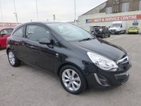USED 2012 12 VAUXHALL CORSA 1.4 ACTIVE AC 3d 98 BHP SH * LOW INS * GOT BAD CREDIT * WE CAN HELP *