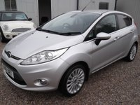 USED 2011 61 FORD FIESTA 1.4 TITANIUM TDCI 5d 69 BHP CHEAP INSURANCE AND TAX!