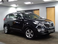 USED 2012 12 KIA SPORTAGE 1.7 CRDI 2 5d 114 BHP PANORAMIC ROOF++FULL SERVICE HISTORY++LOW MILEAGE++