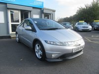USED 2008 58 HONDA CIVIC 1.8 I-VTEC TYPE-S GT I-SHIFT 3d AUTO 139 BHP Low Miles, FSH