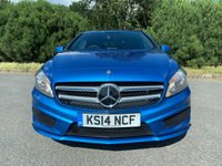 USED 2014 14 MERCEDES-BENZ A-CLASS 2.1 A220 CDI BLUEEFFICIENCY AMG SPORT 5d AUTO 170 BHP STUNNING COLOUR AMG SPORT AUTO 27000 MILES FSH