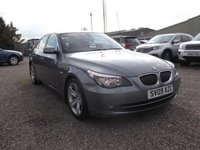USED 2009 09 BMW 5 SERIES 3.0 525D SE 4d AUTO 195 BHP 1 OWNER, AUTO, 70K, FULL LEATHER!