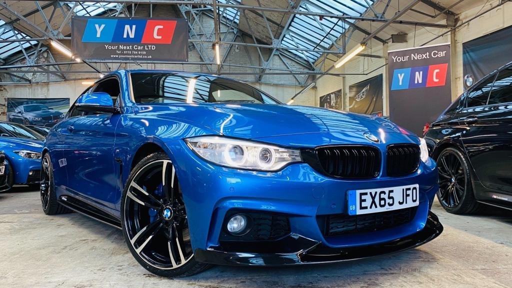 USED 2015 65 BMW 4 SERIES 2.0 420d M Sport Auto 2dr PERFORMANCEKIT+20S+MPLUSPACK