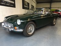 1968 MG MGB 1.8 ROADSTER 2d  £9995.00