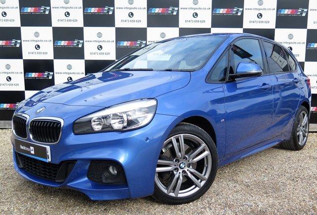 2015 65 BMW 2 SERIES 1.5 218I M SPORT ACTIVE TOURER 5d AUTO 134 BHP