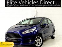 USED 2014 64 FORD FIESTA 1.2 ZETEC 5d 81 BHP **STUNNING EXAMPLE**
