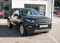 USED 2016 16 LAND ROVER DISCOVERY SPORT 2.0 TD4 SE TECH 5d AUTO 180 BHP