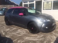 USED 2012 11 CITROEN DS3 1.6 DSTYLE 3d 120 BHP