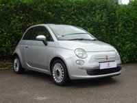 USED 2011 61 FIAT 500 1.2 LOUNGE 3d 69 BHP Low Mileage, Panoramic Roof, Alloy Wheels, Air Conditioning, Service History, Tinted Glass, Spare Key, Ready To Drive Away In Under 1 Hour