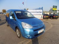2011 CITROEN BERLINGO 1.6 MULTISPACE VTR HDI 5d 74 BHP £5495.00