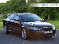 2008 AUDI A4 2.0 TDI S LINE DPF 5d 170 BHP £5495.00