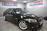 2014 BMW 5 SERIES 2.0 520D SE 4d AUTO 188 BHP £13999.00