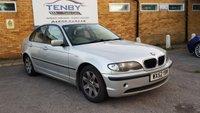 2002 BMW 3 SERIES 2.0 318I SE 4d 141 BHP £794.00