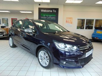View our CITROEN C4 VTR+ HDI 110