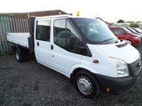 2012 FORD TRANSIT 2.2 350 DRW 1d 124 BHP £7995.00
