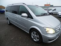 2014 MERCEDES-BENZ VIANO 2.1 AMBIENTE CDI BLUEEFFICENCY 5d 163 BHP £14995.00