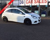 USED 2014 14 VAUXHALL CORSA 1.6 VXR 3d 189 BHP NO DEPOSIT AVAILABLE, DRIVE AWAY TODAY!!
