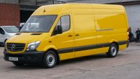 2013 MERCEDES-BENZ SPRINTER 2.1 313 CDI LWB 1d 129 BHP £300 CASH BACK IN DECEMBER!!! 1 OWNER X DHL AIR/CON IN HOUSE /S/H FREE 12 MONTHS WARRANTY COVER  £6990.00