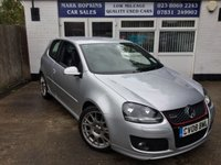 2008 VOLKSWAGEN GOLF 2.0 GTI EDITION 30 T 227 £12995.00