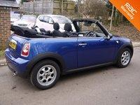 USED 2015 15 MINI CONVERTIBLE 1.6 Cooper 2 Door Convertible In Blue