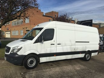 2014 MERCEDES-BENZ SPRINTER 2.1 313CDI LWB HIGH ROOF 130BHP FACELIFT. 1 OWNER. FSH. £9990.00