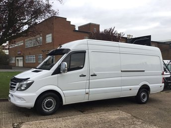 2014 MERCEDES-BENZ SPRINTER 2.1 313CDI LWB HIGH ROOF 130BHP FACELIFT. 1 OWNER. 76K. 169BHP £10990.00