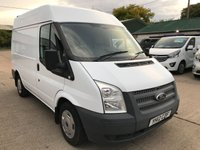 USED 2012 12 FORD TRANSIT 2.2 280 SWB MED ROOF 100 BHP AIR CON