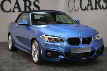 2015 BMW 2 SERIES 2.0 218D M SPORT 2d AUTO 148 BHP £16995.00