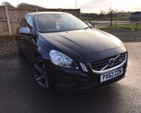 USED 2012 62 VOLVO S60 1.6 DRIVE R-DESIGN S/S 4d 113 BHP