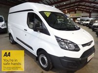"""USED 2014 14 FORD TRANSIT CUSTOM 2.2 330 LWB HI ROOF P/V  125 BHP-ONE OWNER-AIR CON -SERVICE HISTORY-SAT NAV """"YOU'RE IN SAFE HANDS"""" - AA DEALER PROMISE"""