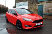 USED 2017 17 FORD FOCUS 1.5 ZETEC S RED EDITION 5d 180 BHP Touch Screen SAT NAV