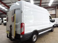 """USED 2015 15 FORD TRANSIT 2.2 350 H/R P/V 125 BHP LWB HI ROOF WITH TAIL LIFT-ONE OWNER-SERVICE HISTORY """"YOU'RE IN SAFE HANDS"""" - AA DEALER PROMISE"""