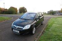2011 VAUXHALL ZAFIRA 1.7 ELITE CDTI ECOFLEX 7 SEATS,Full Service History £4995.00
