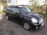 2013 MINI CLUBVAN 1.6 COOPER D 5 door 110 BHP, Sat Nav, Dab Radio, Air Con, Chilli Pack £6499.00